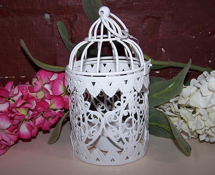 Lattice Birdcage Tealight Holder -