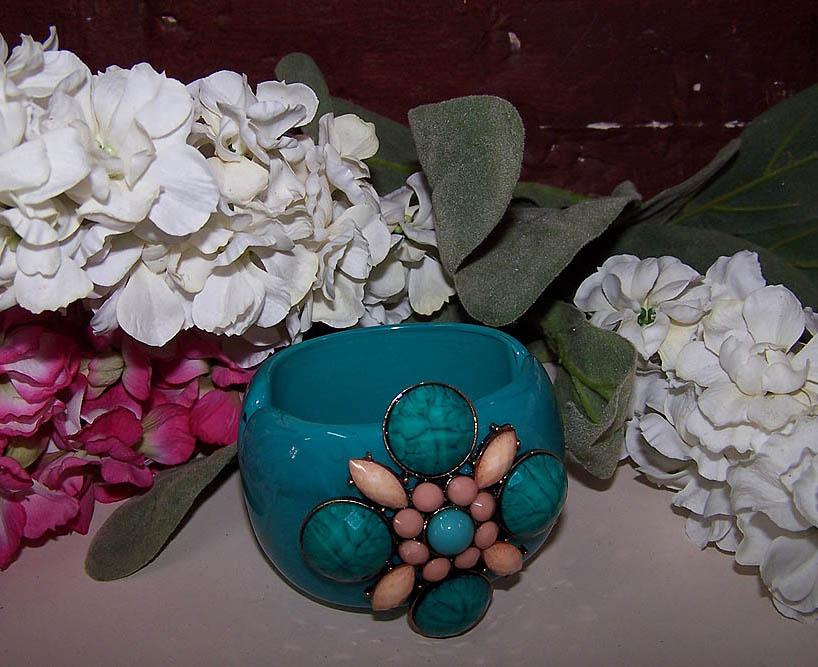 Turquoise Cuff Bracelet -