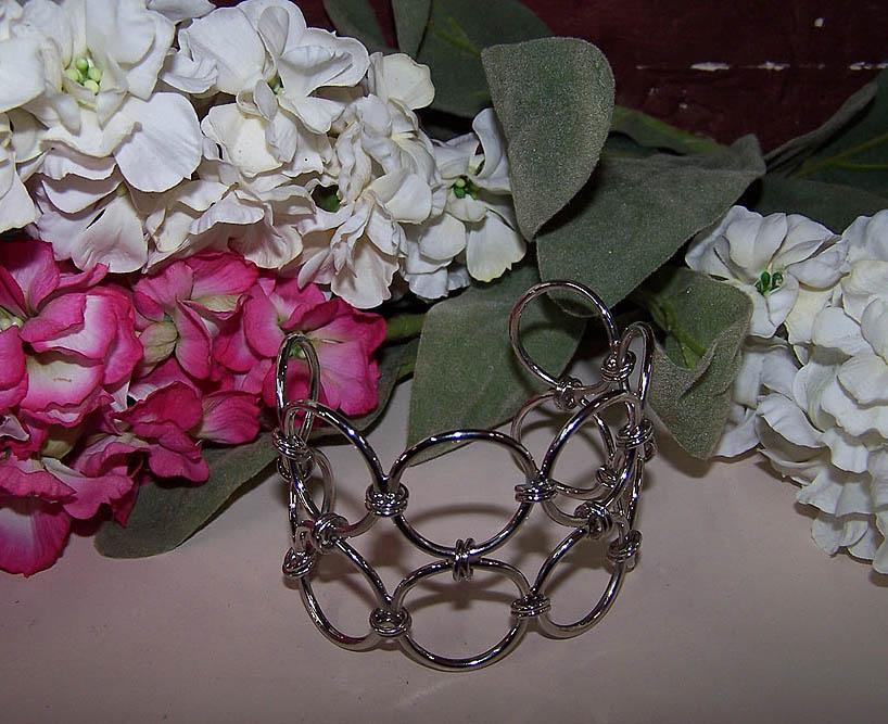 Circles Cuff Bracelet -