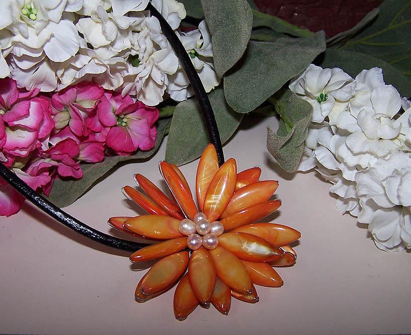 Flower Necklace -