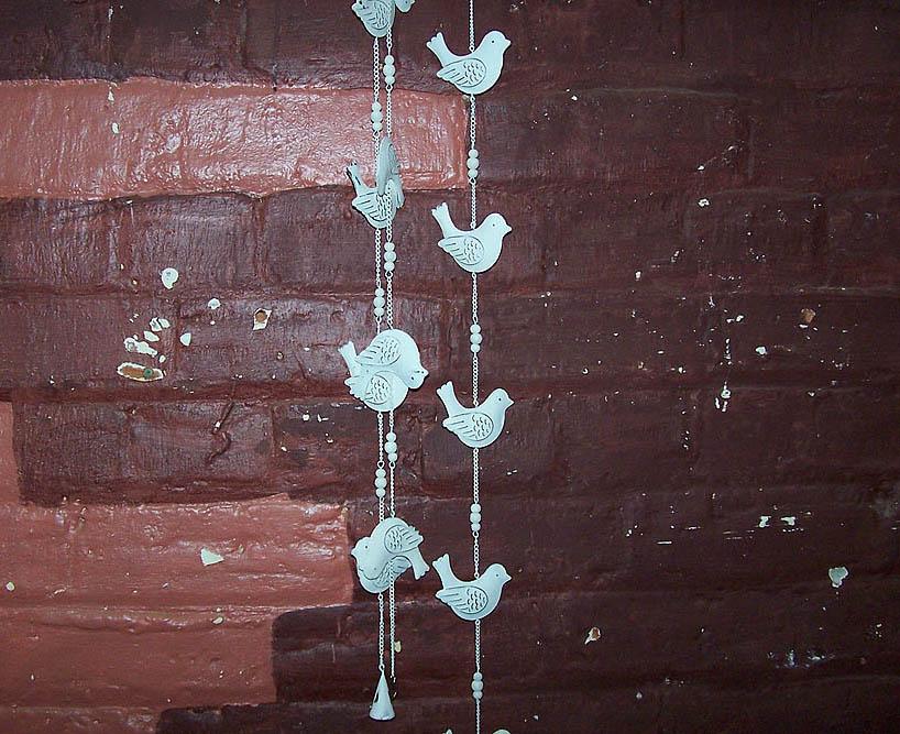 Hanging Tin Birds -