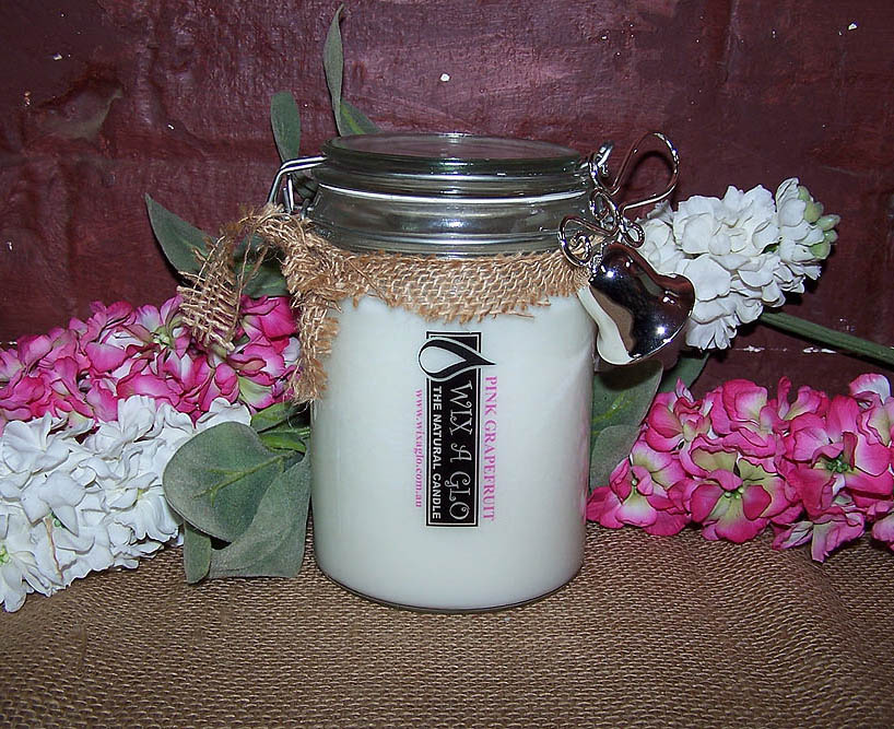 Vintage Soy Candle -